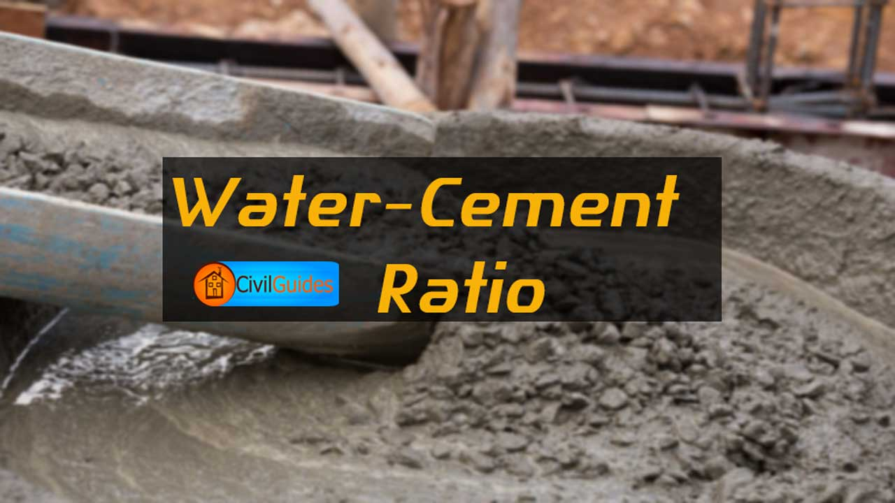 What is Water Cement Ratio? Its Calculation [Complete Guide]