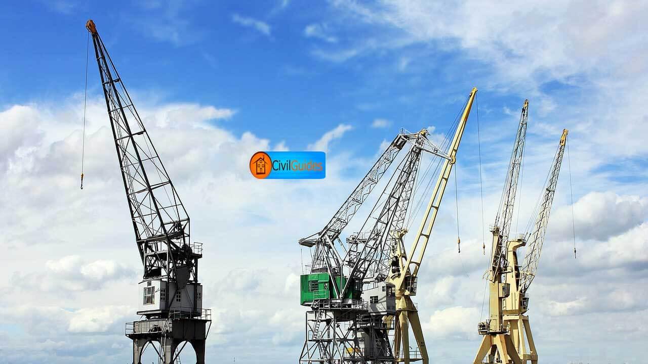 harbour-cranes