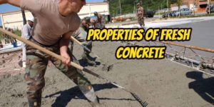 properties of fresh concrete