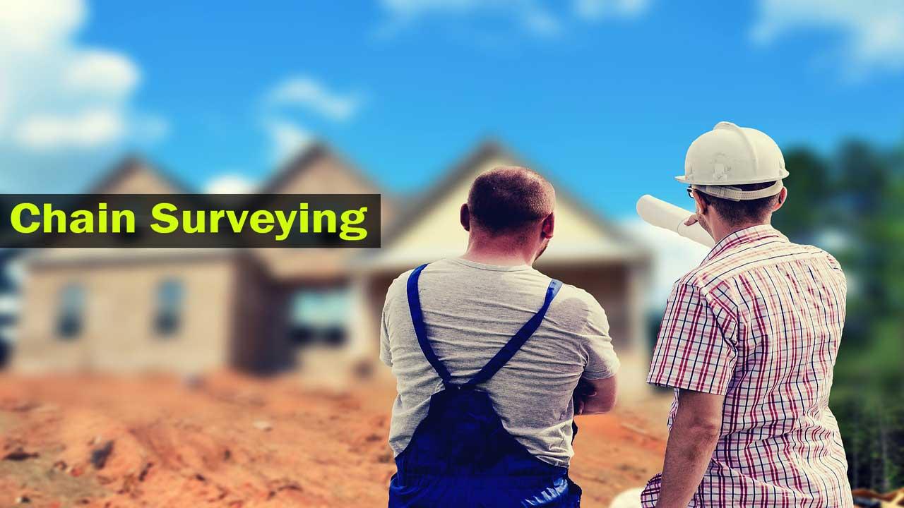 chain surveying procedure