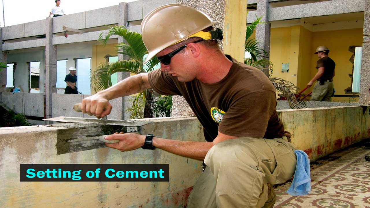 setting-of-cement
