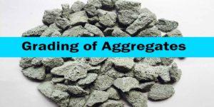 grading of aggregates