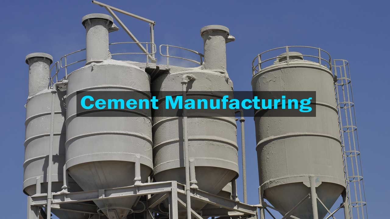 Ultratech Cement Cement Manufacturing Process : Cement manufacturing process what is made of