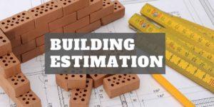 estimation-of-building