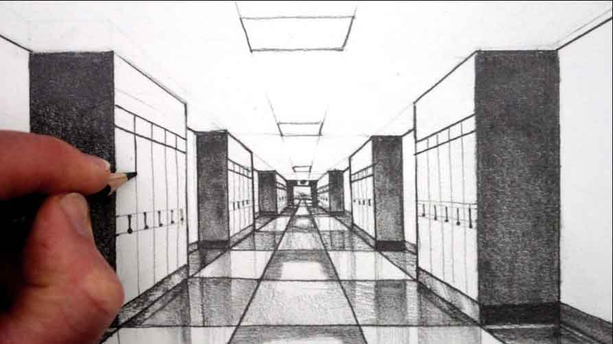 one-point-perspective-drawing