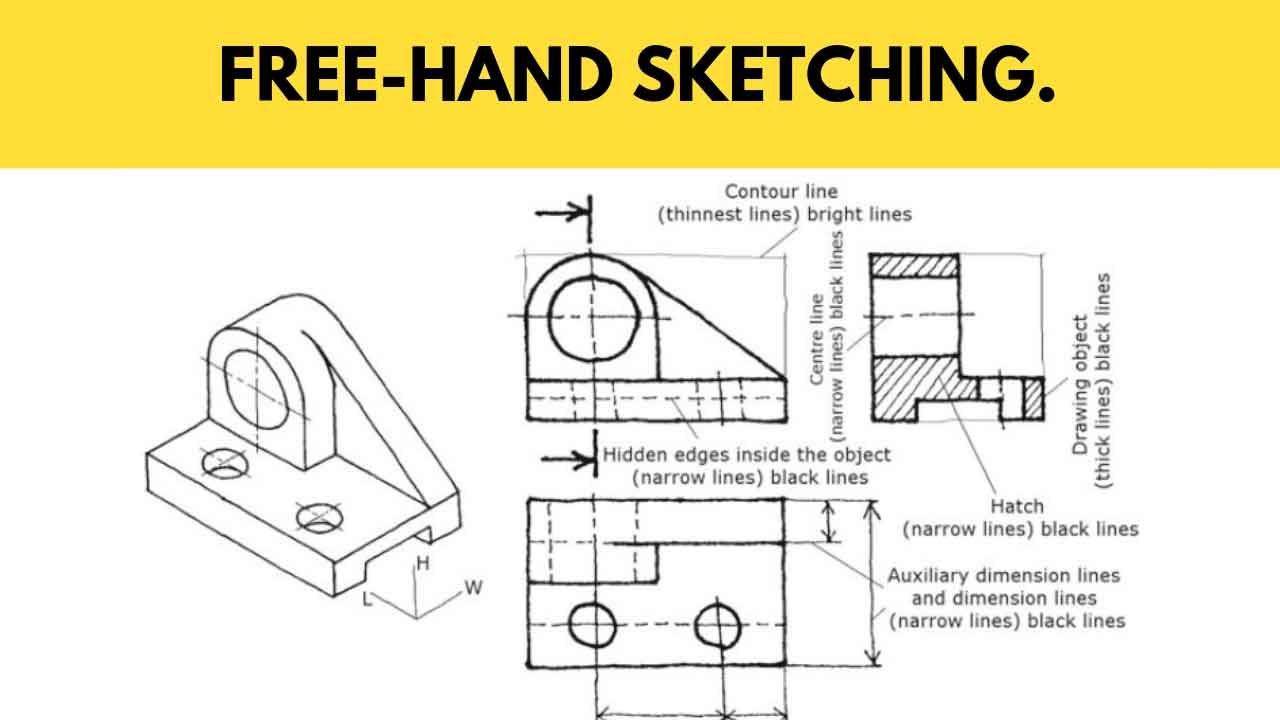 Free Hand Sketching Its Methods Instruments Principles