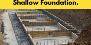 shallow-foundation