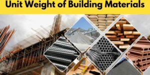 unit-weight-of-building-materials